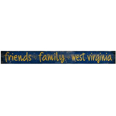 West Virginia Legacy Friends And Family Door Plank