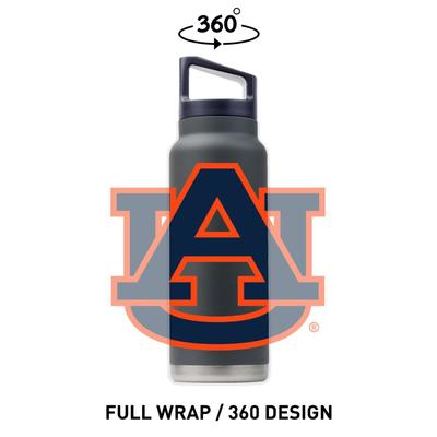 Auburn Gametime Sidekicks 40 Oz. Stainless Steel Water Bottle