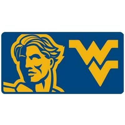 West Virginia Mega Logo License Plate
