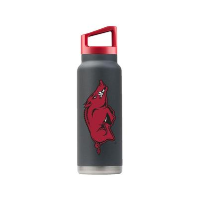 Arkansas Gametime Sidekicks 40 Oz. Stainless Steel Water Bottle