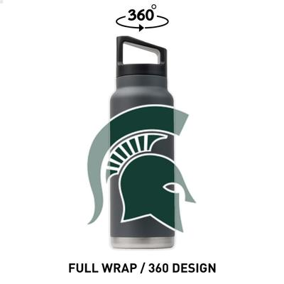 Michigan State Gametime Sidekicks 40 Oz. Stainless Steel Water Bottle