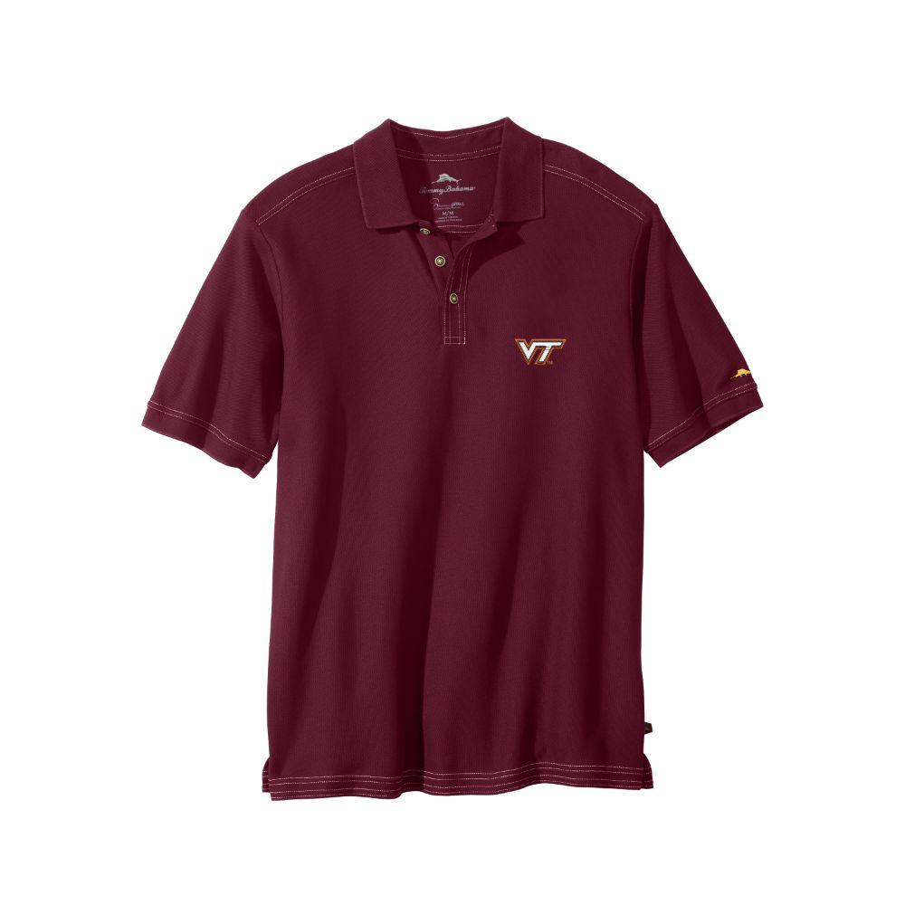 Virginia Tech Tommy Bahama Emfielder Polo