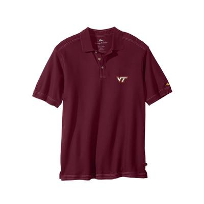 Virginia Tech Tommy Bahama Emfielder Polo