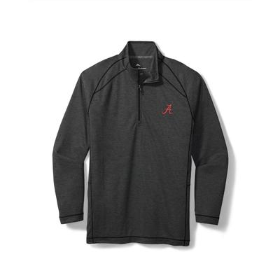 Alabama Tommy Bahama Final Score Half Zip Pullover