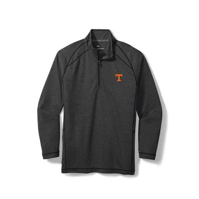 Tennessee Tommy Bahama Final Score Half Zip Pullover