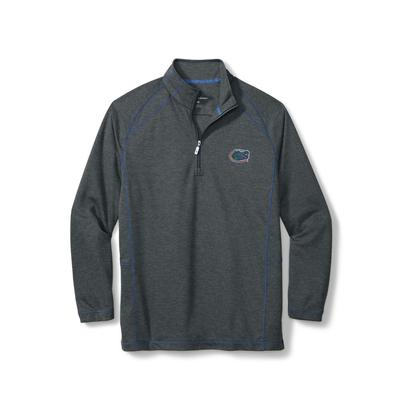 Florida Tommy Bahama Final Score Half Zip Pullover