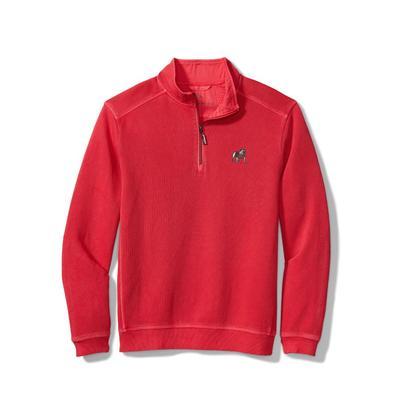 Georgia Tommy Bahama Nassau Half Zip Pullover