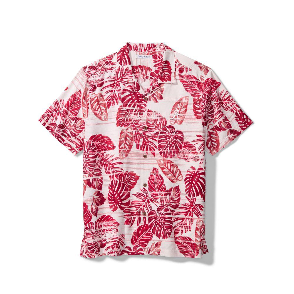 Alabama Tommy Bahama Silk Camp Shirt