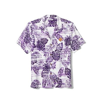 Clemson Tommy Bahama Silk Camp Shirt