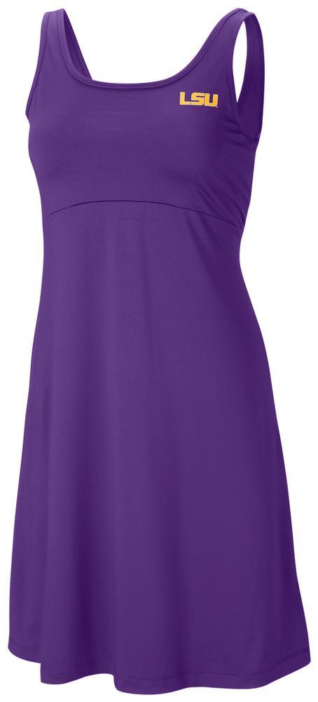 Lsu Columbia Women's Freezer Dress - Plus Sizes