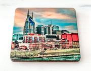 Preserve Press Downtown Nashville Riverfront Coaster