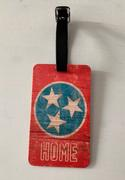 Preserve Press Tennessee Tri- Star Luggage Tag