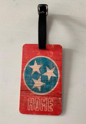 Preserve Press Tennessee Tri-Star Luggage Tag