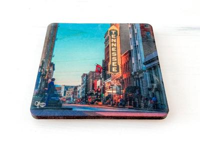 Preserve Press Tennessee Theater Coaster