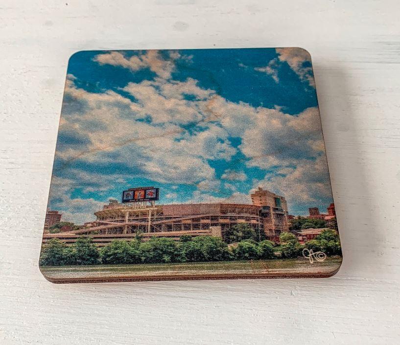 Preserve Press Neyland Stadium Coaster