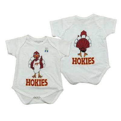 Virginia Tech Infant Baby Hokiebird Onesie