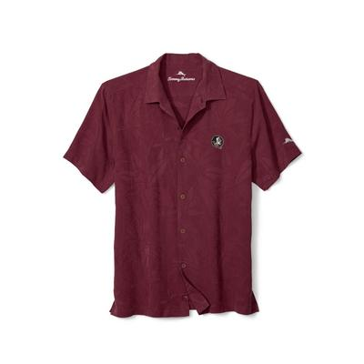 Florida State Tommy Bahama Al Fresco Tropics Camp Shirt