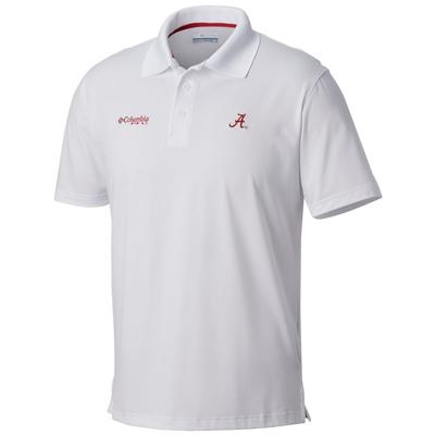 Alabama Columbia PFG Skiff Cast Polo