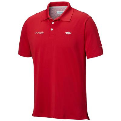 Arkansas Columbia PFG Skiff Cast Polo