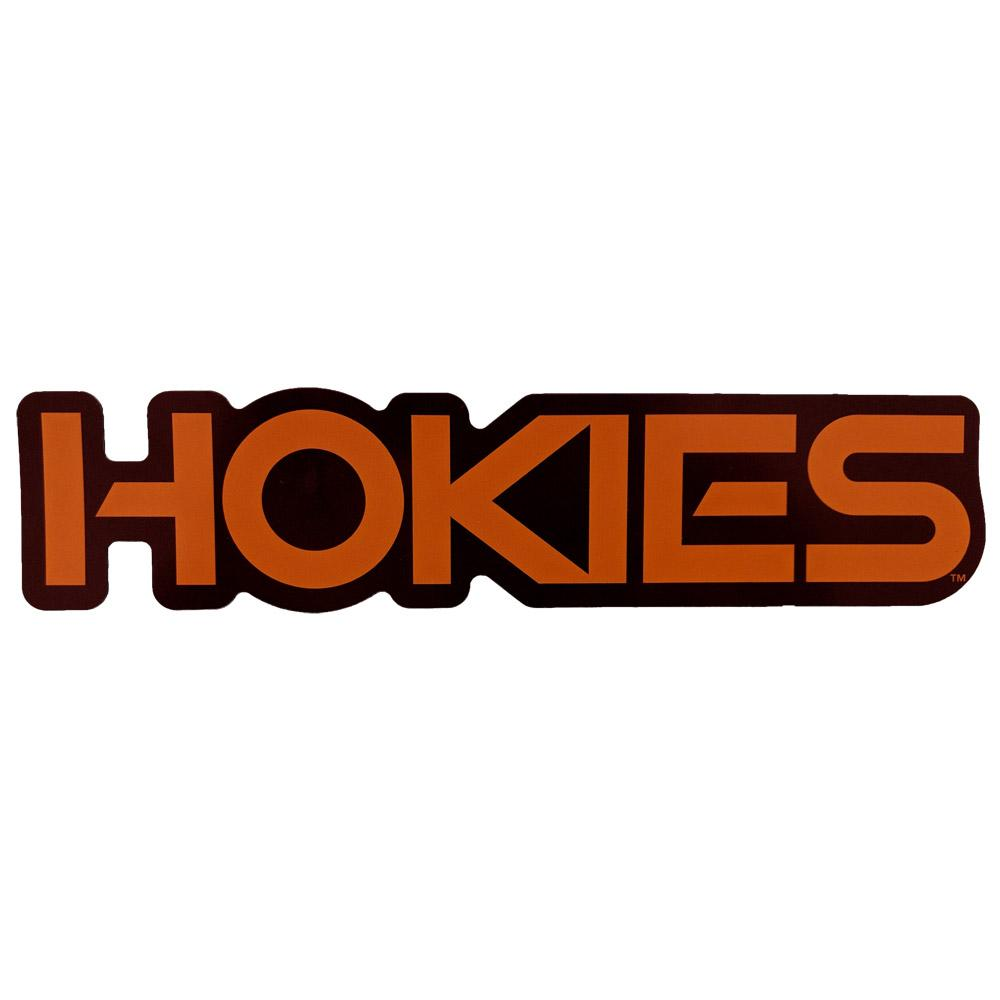 Virginia Tech Hokies Block Magnet