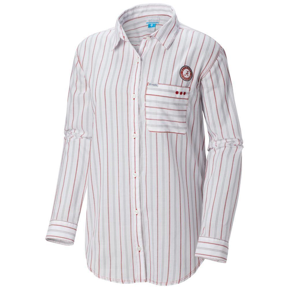 Alabama Columbia Women's Sun Drifter Iii L/S Shirt
