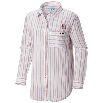 Georgia Columbia Women's Sun Drifter III L/S Shirt