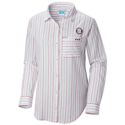 Arkansas Columbia Women's Sun Drifter III L/S Shirt