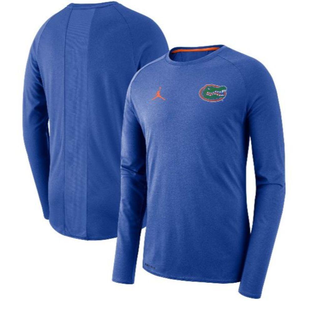 Florida Jordan Brand Alpha Dry Coaches L/S Top