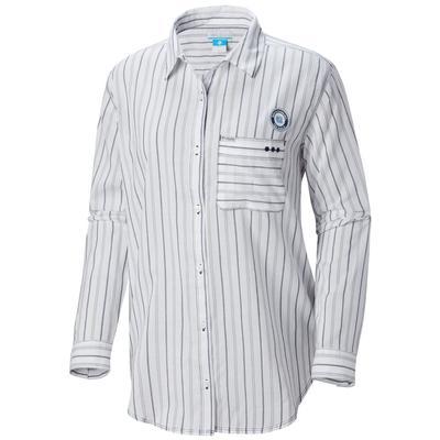 UNC Columbia Women's Sun Drifter III L/S Shirt