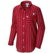 Alabama Columbia Women's Sun Drifter Iii L/S Shirt - Plus Sizes