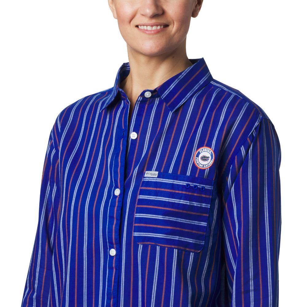Florida Columbia Women's Sun Drifter Iii L/S Shirt - Plus Sizes
