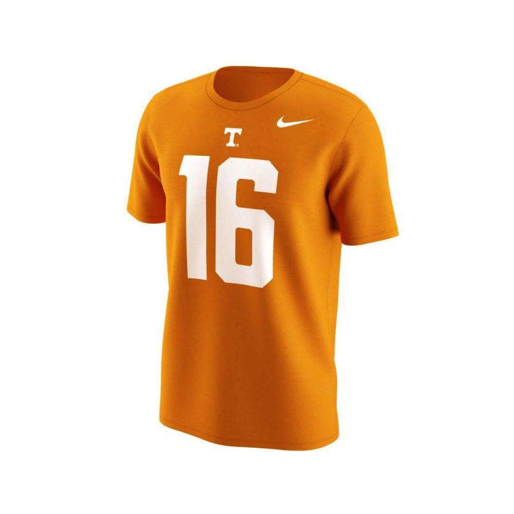 Tennessee Nike Peyton Manning # 16 Jersey Tee