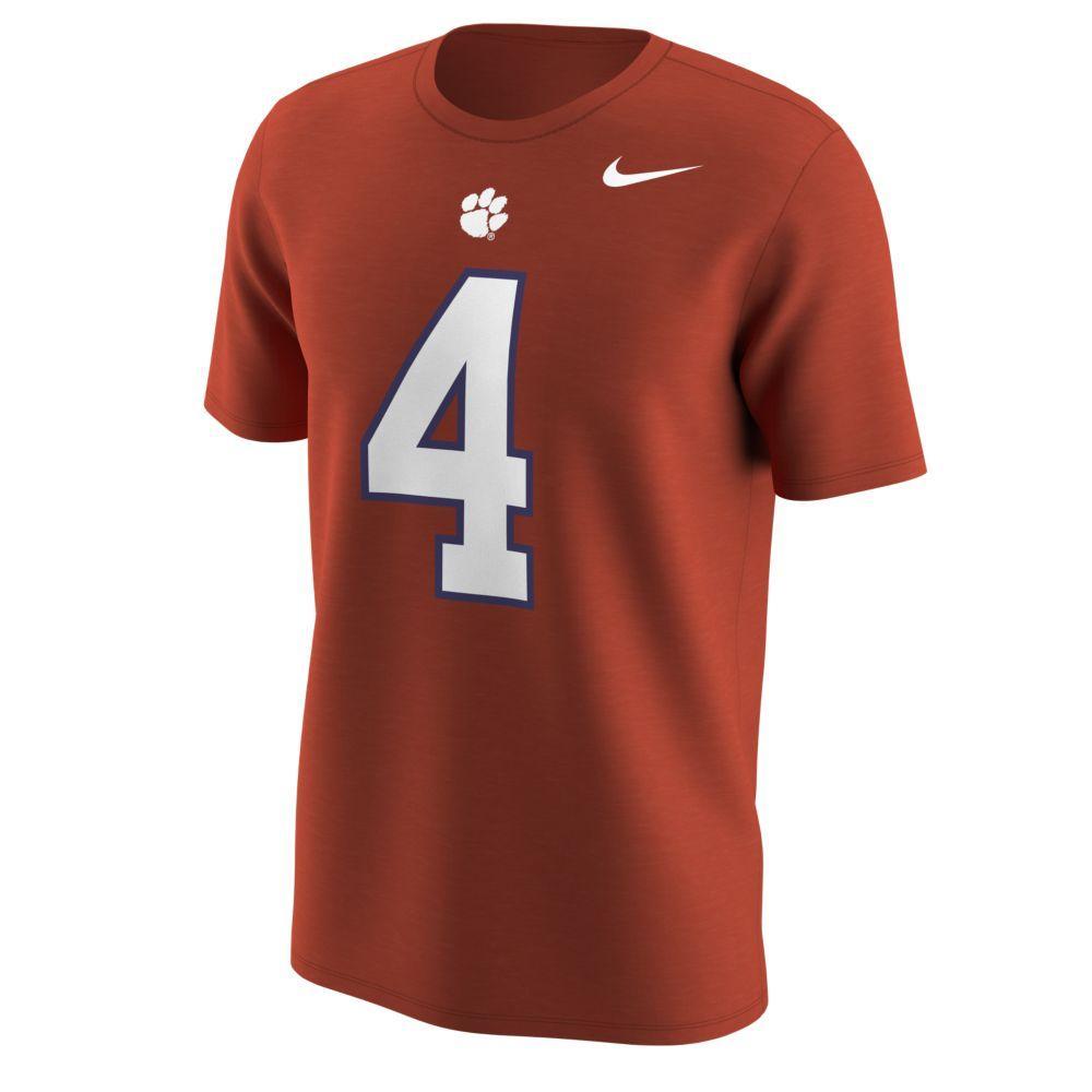 Clemson Nike Deshaun Watson # 4 Jersey Tee