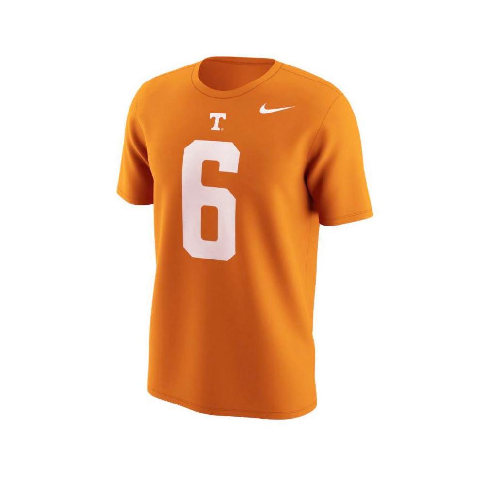 Tennessee Nike Alvin Kamara # 6 Jersey Tee