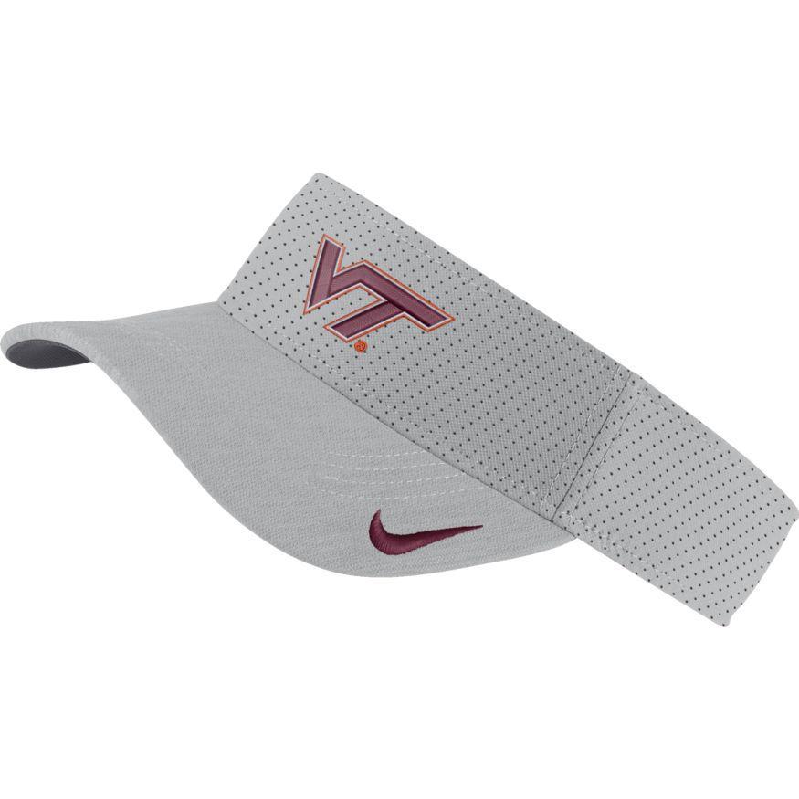 Virginia Tech Nike Aero Dri Visor