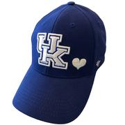 Kentucky 47 Brand Girls Heart Mvp Hat