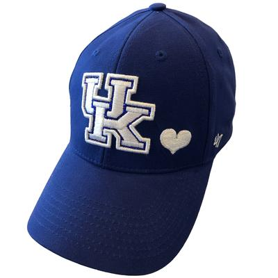 Kentucky 47 Brand Girls Heart MVP Hat