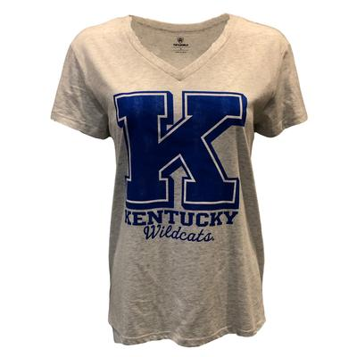 Kentucky Women's Heritage V-Neck Triblend Boyfriend Tee
