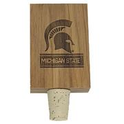 Michigan State Timeless Etching Bottle Stopper