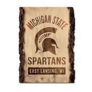 Michigan State Legacy Tree Plank Sign