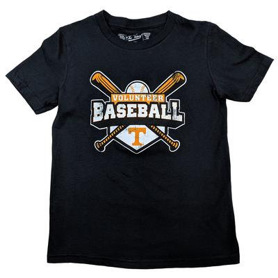 Tennessee Youth Cross Bats Baseball Tee