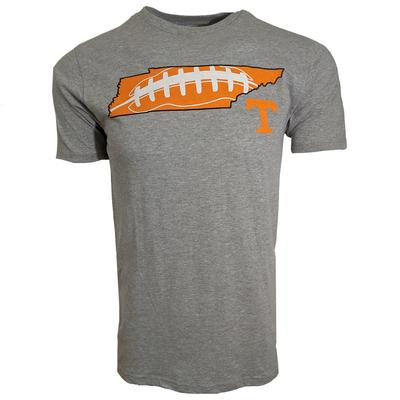 Tennessee Football Laces Short Sleeve Tee