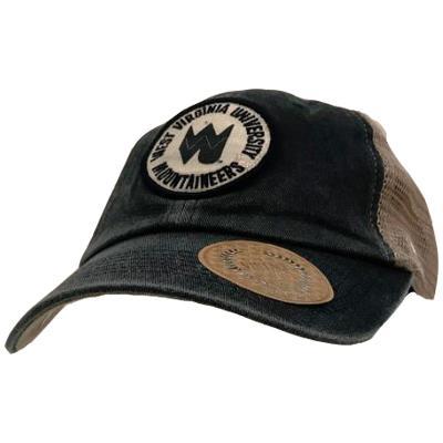West Virginia Patch Mesh Back Cap