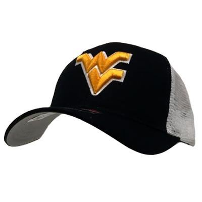 West Virginia WV Logo Mesh Back Trucker Hat