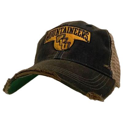 West Virginia Dirty Mesh Back Cap