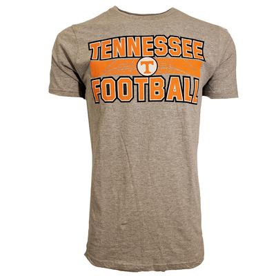 Tennessee Vols Football Stacked Laces Tee