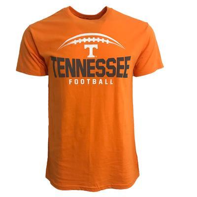 Tennessee Football Bridge Short Sleeve Tee