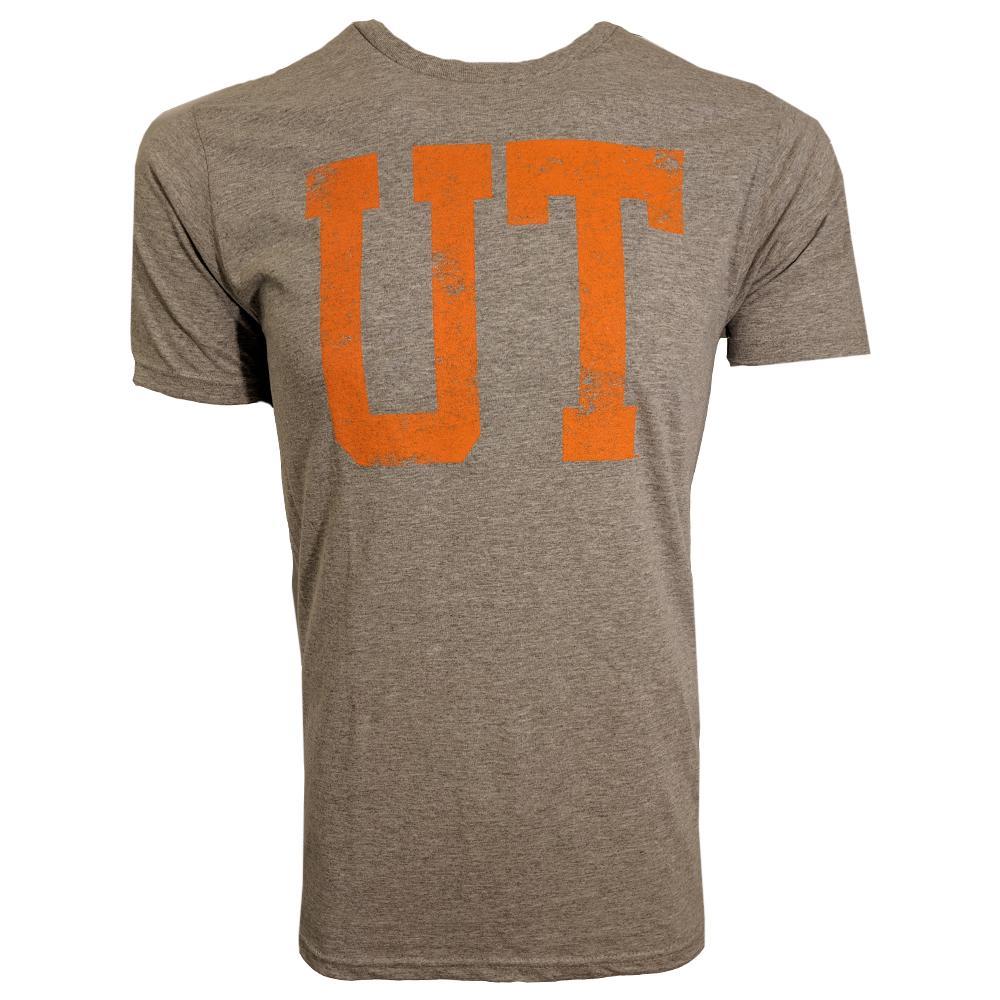 Tennessee Distressed Ut Logo Short Sleeve Tee