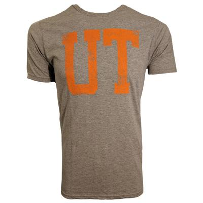 Tennessee Distressed UT Logo Short Sleeve Tee