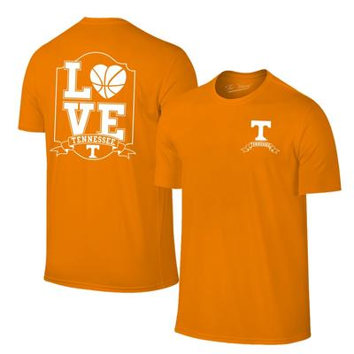 Tennessee Women's Love Basketball T-Shirt